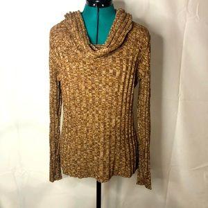 APT 9 • cowl neck sweater • EUC